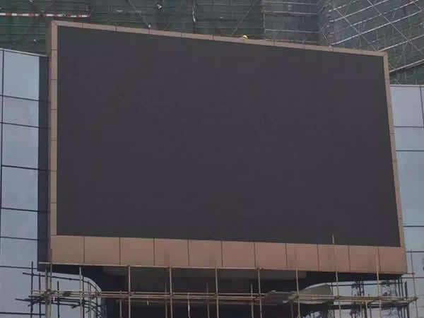 户外led显示屏费用
